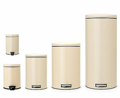 brabantia Pedal bin Almond Dustbin Garbage Can Waste separation available