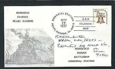 Roscoe Hillenkoetter signed cover 1st Director of the CIA