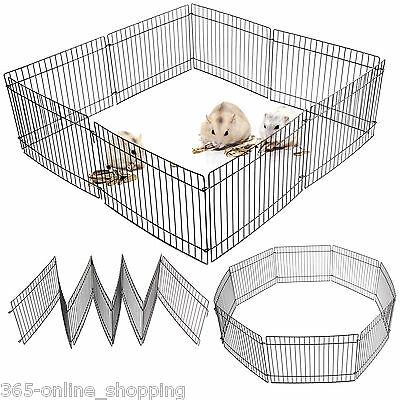 Small Folding Playpen Guinea Pig/rabbit/hamster/mouse Garden Play Pen/cage