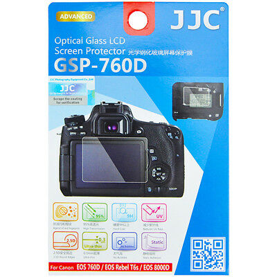 Glass H9 Protection LCD Screen Protector for Canon EOS 760D 8000D Rebel T6s