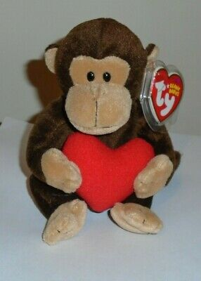 Ty Beanie Baby ~ D'VINE the Monkey ~ MINT with MINT TAGS ~ RETIRED