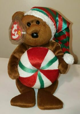 Ty Beanie Baby ~ YUMMY the Holiday Bear ~ MINT with MINT TAGS ~ RETIRED