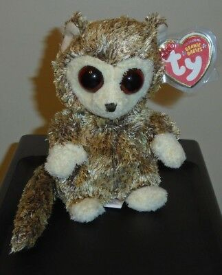 Ty Beanie Baby ~ PEEPERS the Bush Baby (6 Inch) MWMT