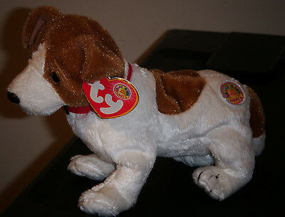 Ty Beanie Baby ~ KIPPY the Dog BBOM ~ MINT with MINT TAGS ~ RETIRED
