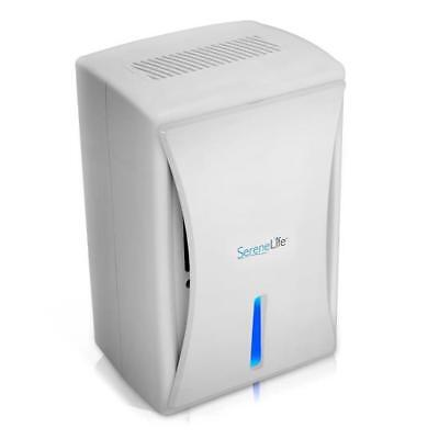 NEW SereneLife PDUMID35 Compact Electronic Dehumidifier Digital Moisture Control