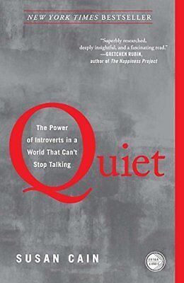 Quiet: The Power of Introverts in a World That Can't Stop Talking-Susan Cain