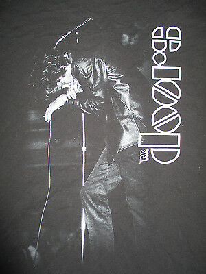JIM MORRISON The DOORS (LG) T-Shirt Black
