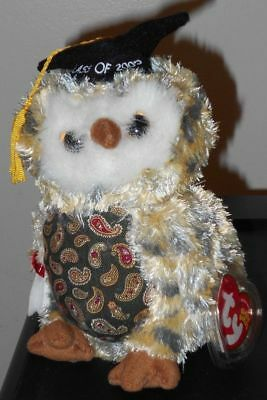 2c4fa937c58 Ty Beanie Baby ~ SMARTY the Owl ~ Internet Exclusive ~ MINT with MINT TAGS