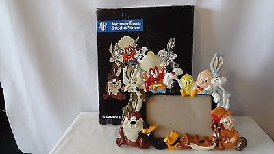 Warner Brothers 1997 Sylvester and Tweety Bird Picture Frame MIB H497