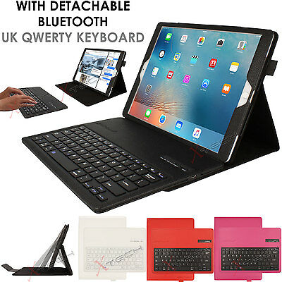"""PU Leather Detachable Bluetooth Keyboard Case + Stand for Apple iPad Pro (12.9"""")"""