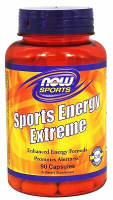 NOW Foods SPORTS ENERGY EXTREME - 90 capsules - ENDURANCE Focus STAMINA