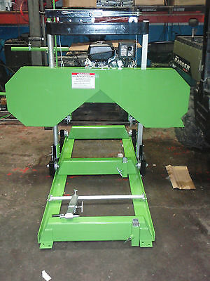 Bandsaw Mill Sawmill Band Sawmill 14 Hp Kohler/ 24 Foot Track/electric Start