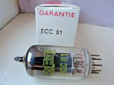 Ecc81 Rft 12At7  New Old Stock Tube Valve 1 Pc