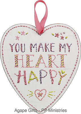PBK Valentine's Day Decor - Love You More Large Heart Hang-up #26326