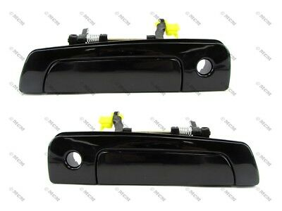 Galant/Mirage/Eclipse, Sebring Outside Door Handle, Smooth Black, Front PAIR
