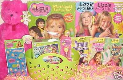 LIZZIE MCGUIRE duff TOY easter basket hilary GAME TOYS