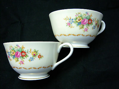 ( 2 ) Vintage Jyoto Fine China Tan TRADITIONAL Coffee Cups-Several Available