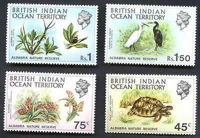 BRITISH INDIAN OCEAN TERRITORY Sc # 39/42 - VF