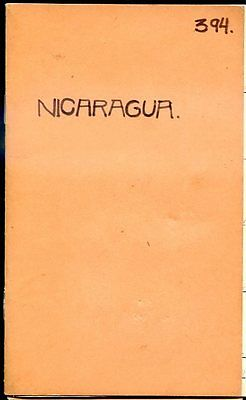 Nicaragua + 350 Stamps Lot On Booklet, Vf