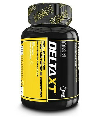 Man Sports DELTA XT Testosterone Booster - 84 capsules - BUILD LEAN MUSCLE