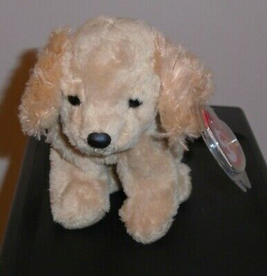 Ty Beanie Baby ~ COPPER the Cocker Spaniel Dog (Internet Excl)(5.5 Inch) MWMT