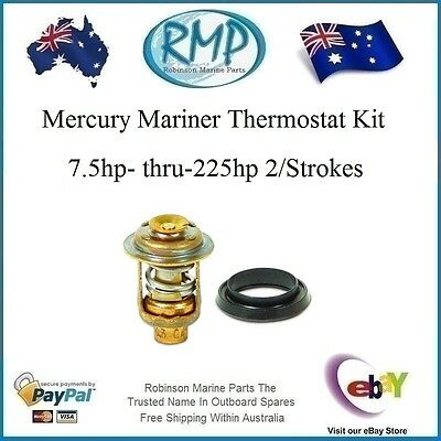 A Brand New Thermostat & Seal Suits Mercury Mariner 7.5hp-thru-225hp # 75692 K