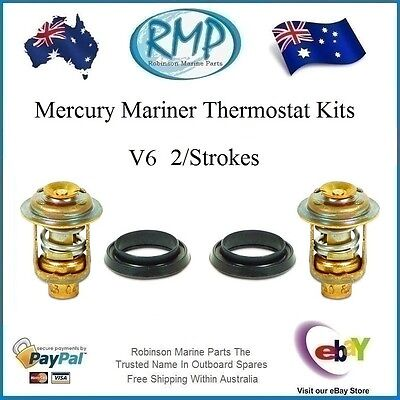 A Brand New Thermostat Kits Suits Mercury Mariner V6 2/Strokes # 75692 K