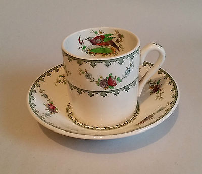 Vintage Copeland Spode Coffee Cup & Saucer/ Can/ Demitasse/ Duo. VIENNA Pattern