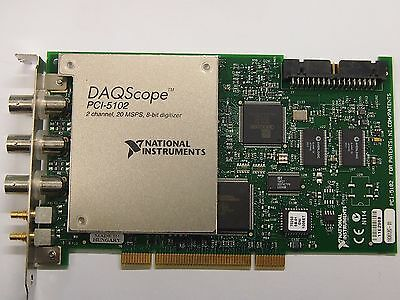 (NEW) National Instruments NI PCI-5102 2-Channel Deep-Memory Digitizer/Scope F/S