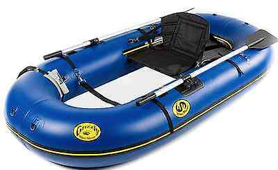 NEW Water Master Grizzly Raft | Fly Fishing | Light | Blue | Standard Package