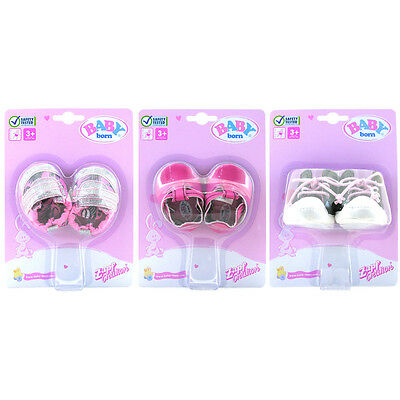 Baby Born Trendy Shoes- 3 Colours to choose from (Each Sold Separately)