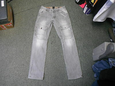 "Next Straight Leg Jeans Waist 31"" Leg 32"" Black Faded Boys 13 Yrs Jeans"