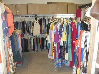 Business Opportunity To Have A Vintage Clothing Store = Inventory Of Two Stores