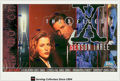 Entertainment Cards Box: The X-Files Season 3 Trading Card Box (36) (Topps)
