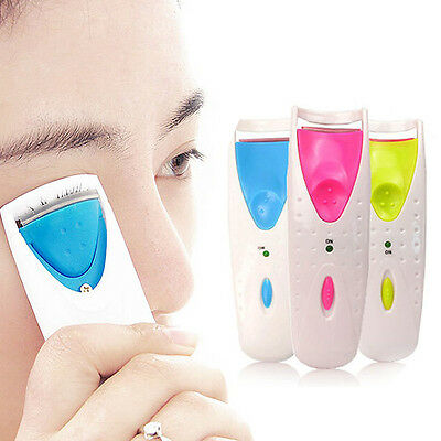FAD Electric Automatic Long Lasting Heated Eyelash Eye Lashes Curler Makeup Kit