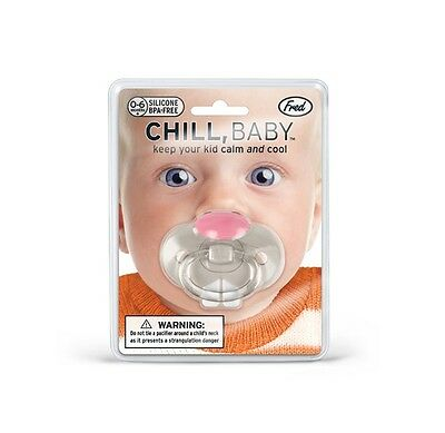 Fred Chill Baby Bunny Teeth Pacifier Funny Teeth Dummy Soothie Soother