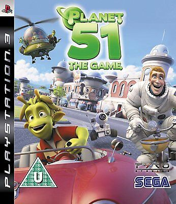 Planet 51 The Game Sony PlayStation 3 PS3 Brand New
