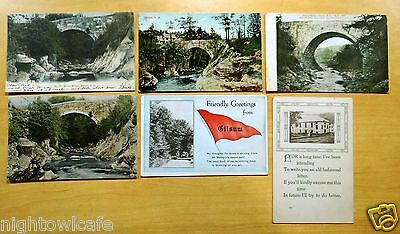 Lot of 6 Antique Postcards ALL GILSUM, NH New Hampshire