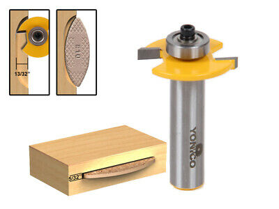 #10 Biscuit Joint Slot Cutter Jointing/Slotting Router Bit - Yonico 14183