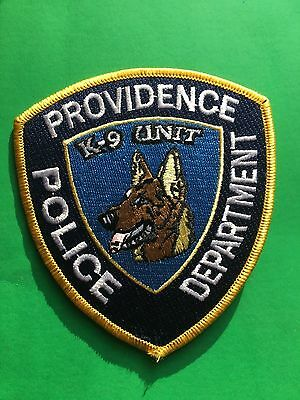 Providence Rhode Police K-9  Shoulder Patch