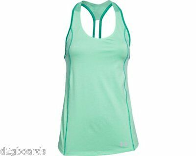 2016 NWOT Under Armour UA CoolSwitch Trail Tank Top Shirt Womens S Small fx21