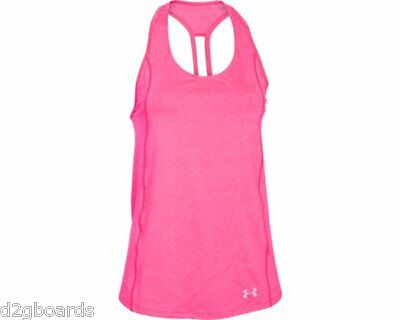 2016 NWOT Under Armour UA CoolSwitch Trail Tank Top Shirt Womens S Small fx23