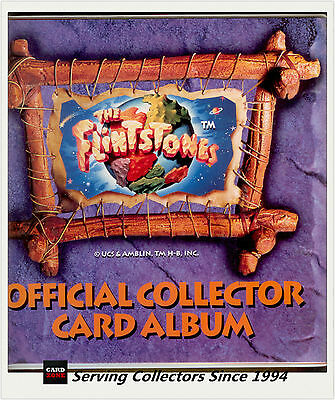 *Australia Dynamic The Flintstones Trading Card Official Album (with pages) RARE