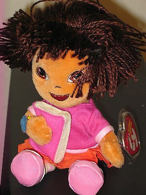 Ty Beanie Baby ~ DORA the EXPLORER (Back to School Version) -MINT with 0204812caf36