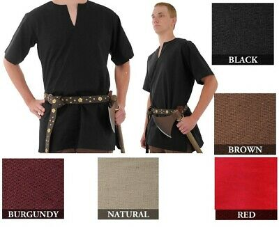 Medieval Tunic renaissance Larp Shirt SCA Costume Cosplay