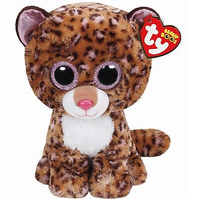Ty Beanie Babies 37068 Boos Patches the Leopard Boo Buddy