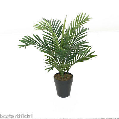 Best Artificial 2ft 60cm ARECA PALM Tree Tropical PLANT Office Conservatory new