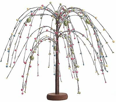 """Willow Pip Berry Easter Egg Tree Home Spring Holiday Decor 19"""" high NEW EA4658"""
