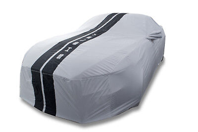 2015-2019 Mustang Shelby GT350 Genuine Ford Weathershield Car Cover w Snake Logo