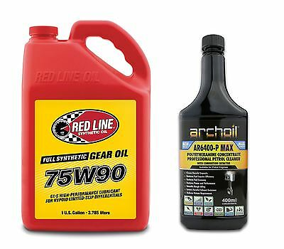 Red Line 75W90 GL-5 Differential LSD Gear Oil US GALLON 3.785 Litres, Mazda